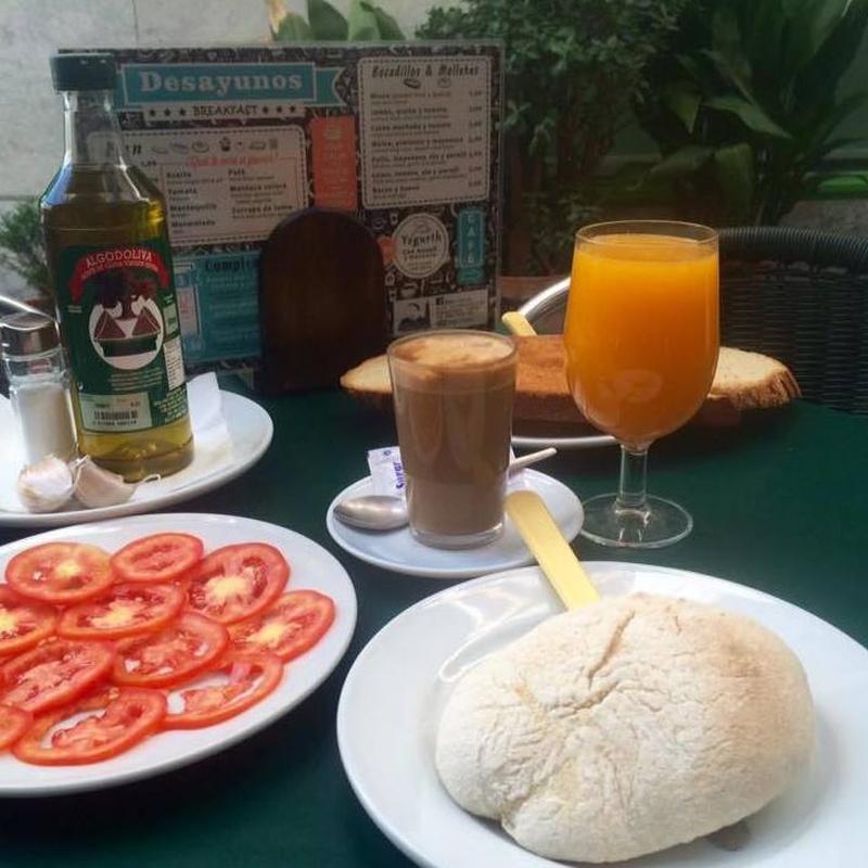 Desayunos: Carta de Bar Canijo