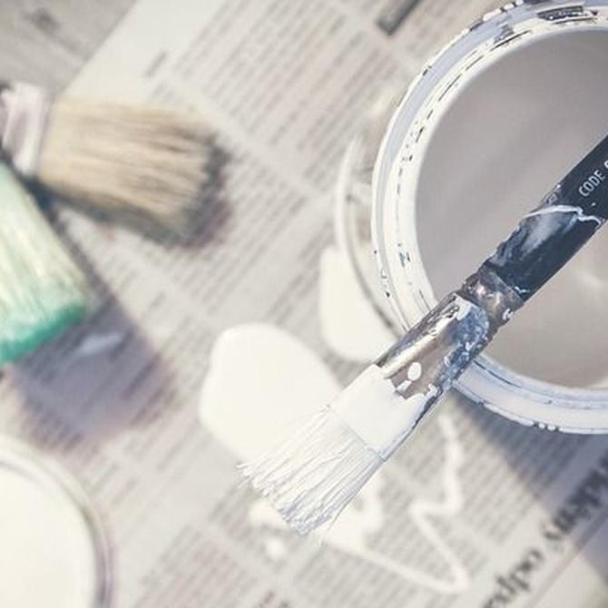 Los mejores consejos antes de pintar la vivienda