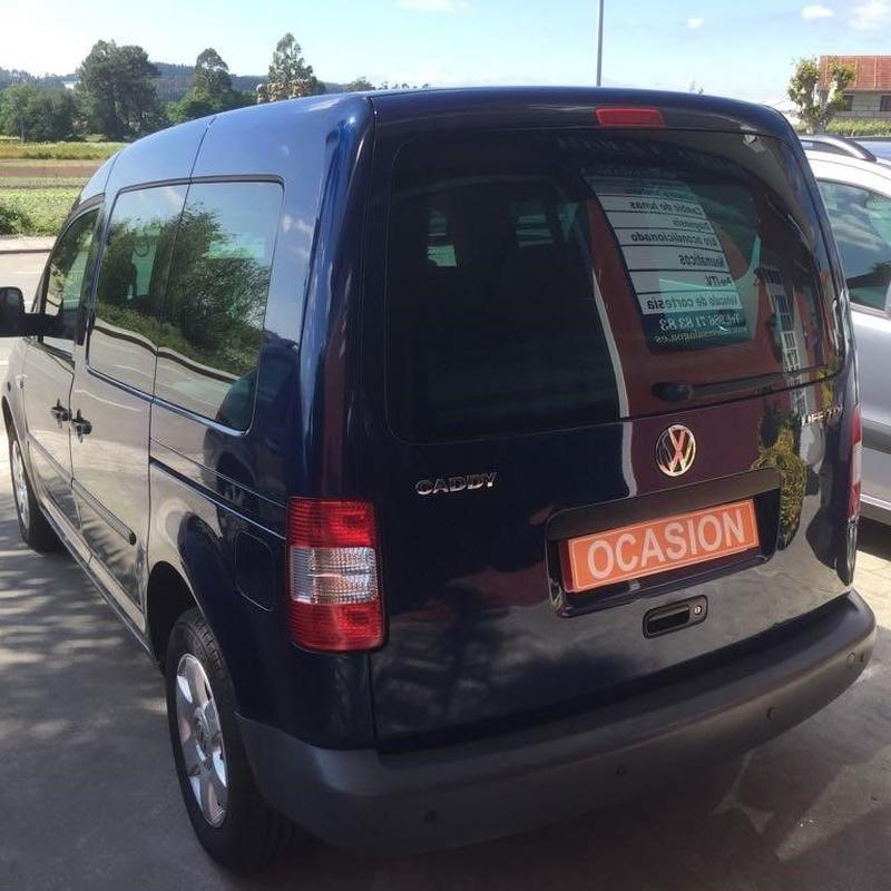 VW Caddy  7 plazas 1.9TDI 105CV:  de Ocasión A Lagoa