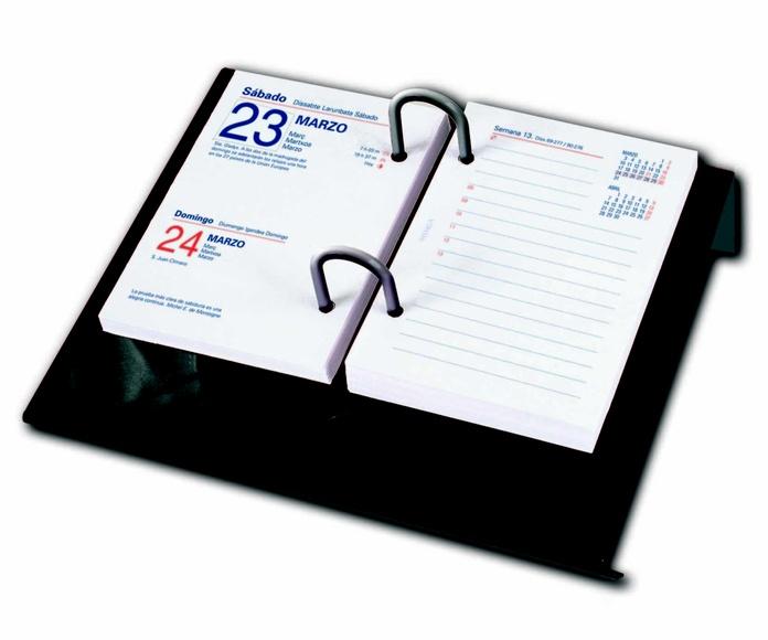 Bloque calendario de mesa