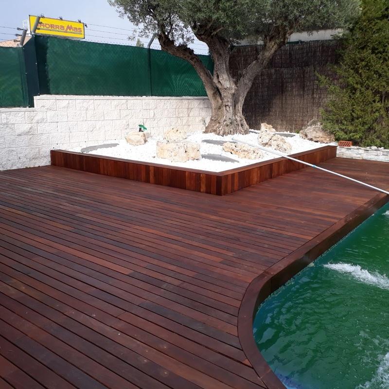 Tarima Ipé y madera exterior: Productos y servicios de Semasa