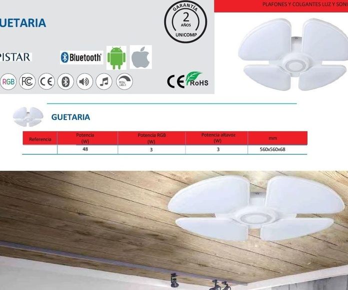 Plafón bluetooth + RGB: Productos de Centro Led Almería