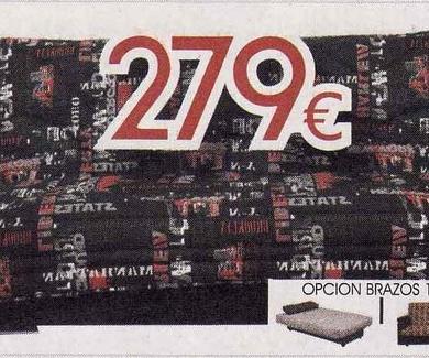 Gran sofa cama libro
