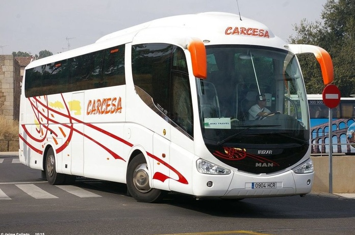 Servicio discrecional: Servicios de Autocares Carcesa
