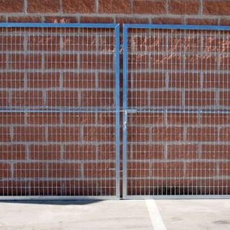 Puertas para vallados: Productos de Ferretería Baudilio