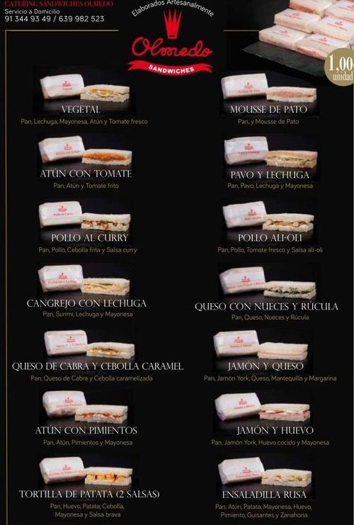 Fotos de Panadería y Pastelería industrial en Madrid | Catering Sándwiches Olmedo