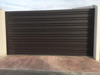 Puertas, rejas, vallas de hierro en Toledo