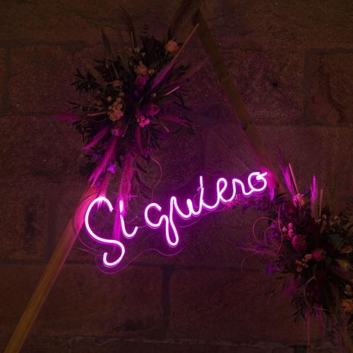 Neón bodas Ourense