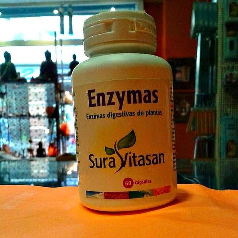 Enzymas Sura Vitasan: Cursos y productos de Racó Esoteric Font de mi Salut