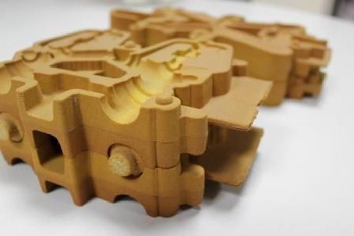 Fabricación de moldes de Inyección de Arena : Productos y servicios de Ingeniería del Molde