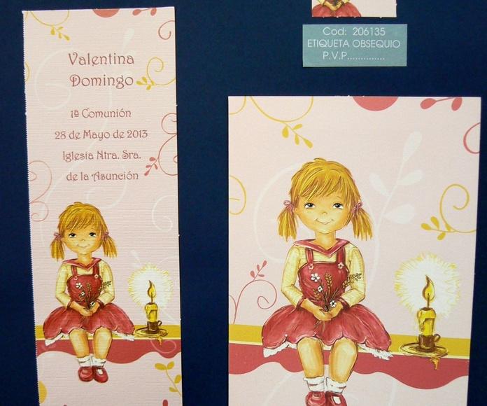 Recordatorios e invitaciones.: CATÁLOGO de Floristería Iglesias