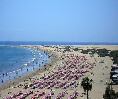 Alquila un apartamento en la playa del Inglés