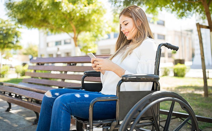 Transporte público accesible en el móvil
