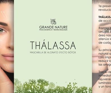 Thalassa...Mascarilla de alginato de efecto Bòtox