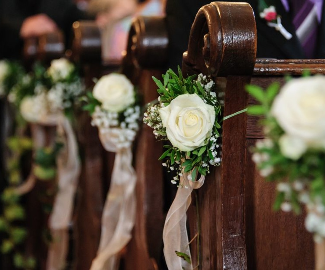 Consejos para decorar la iglesia en una boda