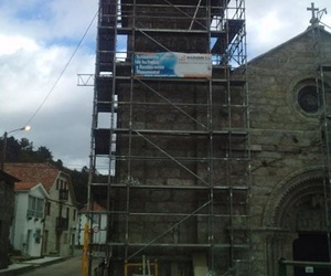 Restauración de la iglesia de la Franqueira