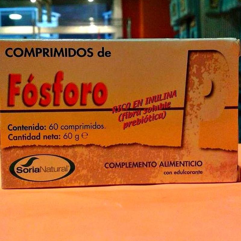 Comprimidos de Fósforo: Cursos y productos de Racó Esoteric Font de mi Salut