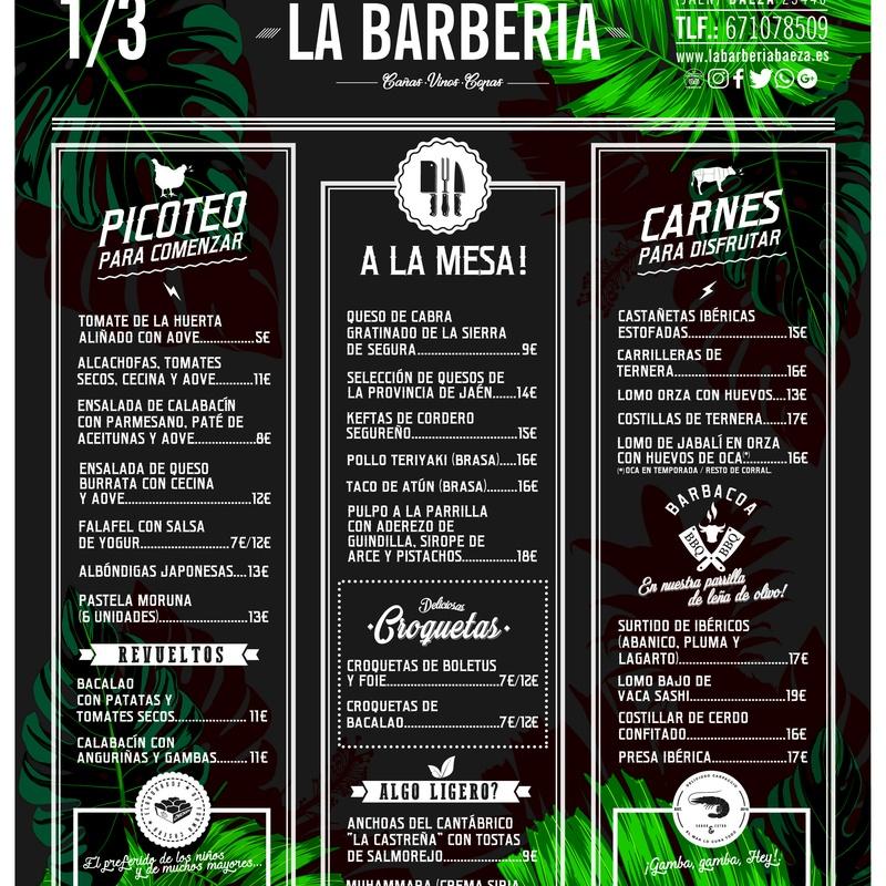 Restaurantes Baeza