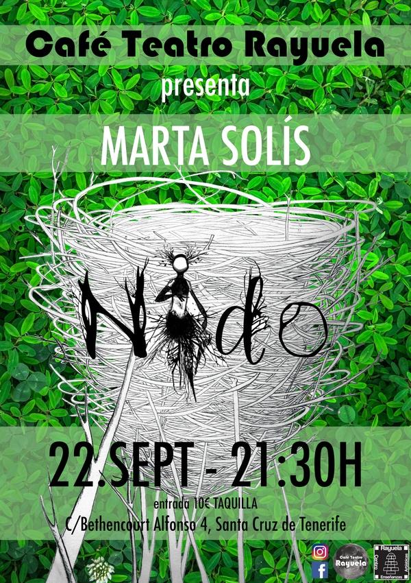 MARTA SOLÍS Y SU GRUPO EN CAFÉ TEATRO RAYUELA