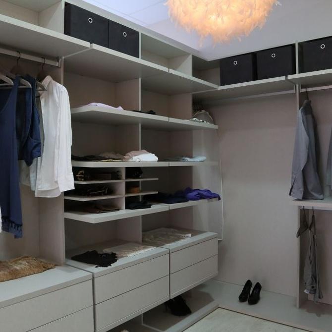 Cómo diseñar tu propio vestidor
