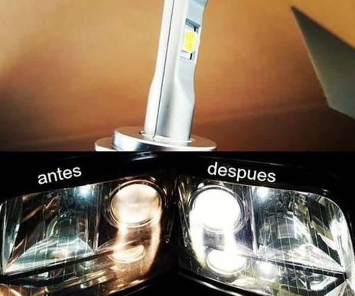 iluminacion led para coches