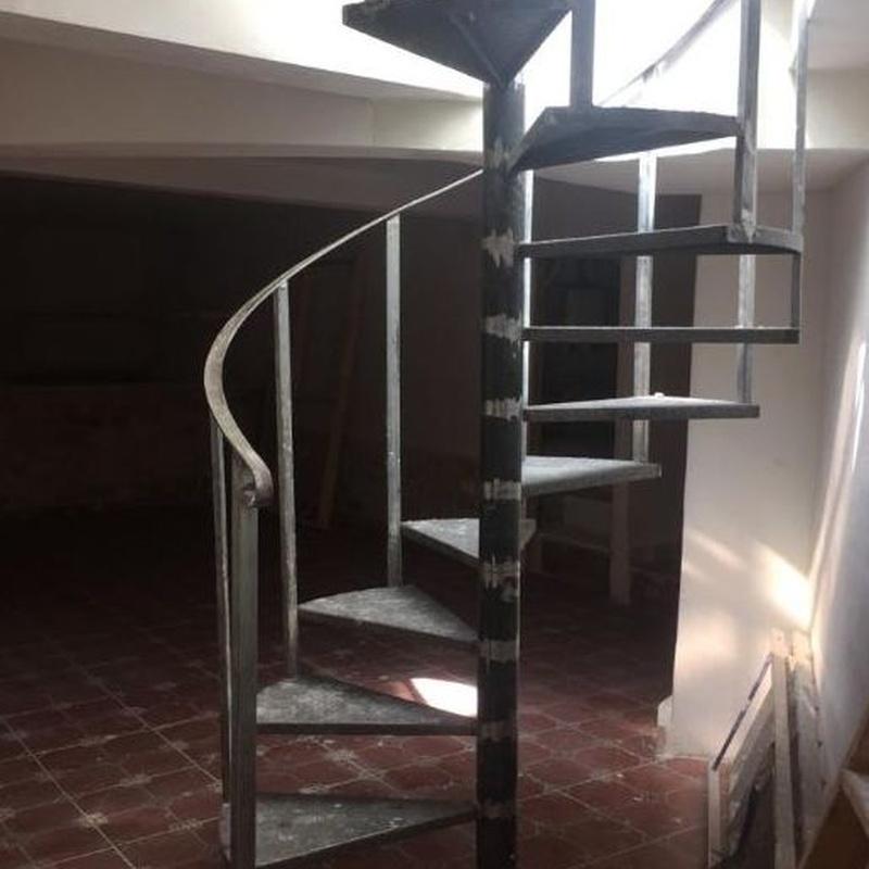 Escaleras de hierro: Productos de Inox mueble 2019