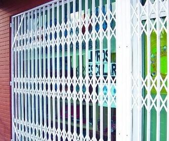Acero Inoxidable: Productos de MJ Puertas y Automatismos