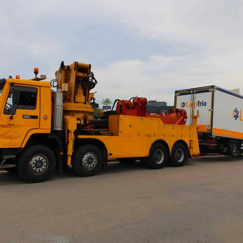 Grúas para camiones Hospitalet de LLobregat