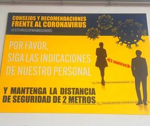 ABRIMOS NUSTRAS PUERTAS CON MEDIDAS DE SEGURIDAD ANTE EL COVID-19