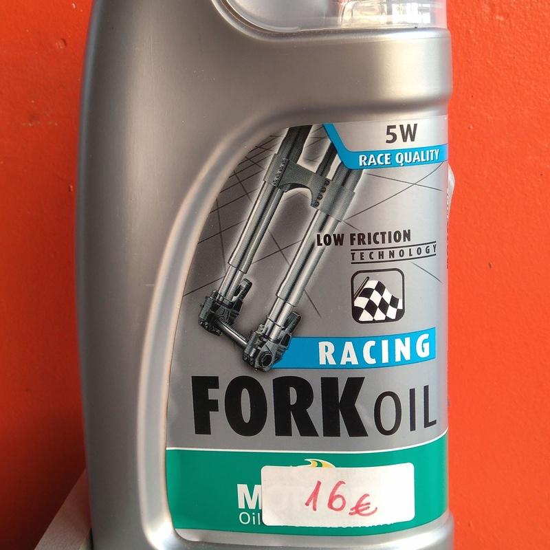 Aceite Fork Oil Racing 5w: Catálogo de QUINIMOTOS