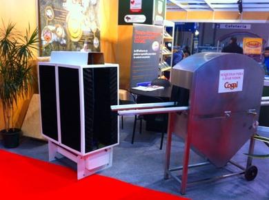 Nuestro Humibat (Refrigeración Evaporativa) en la Feria Cimag Gandagro de Galicia