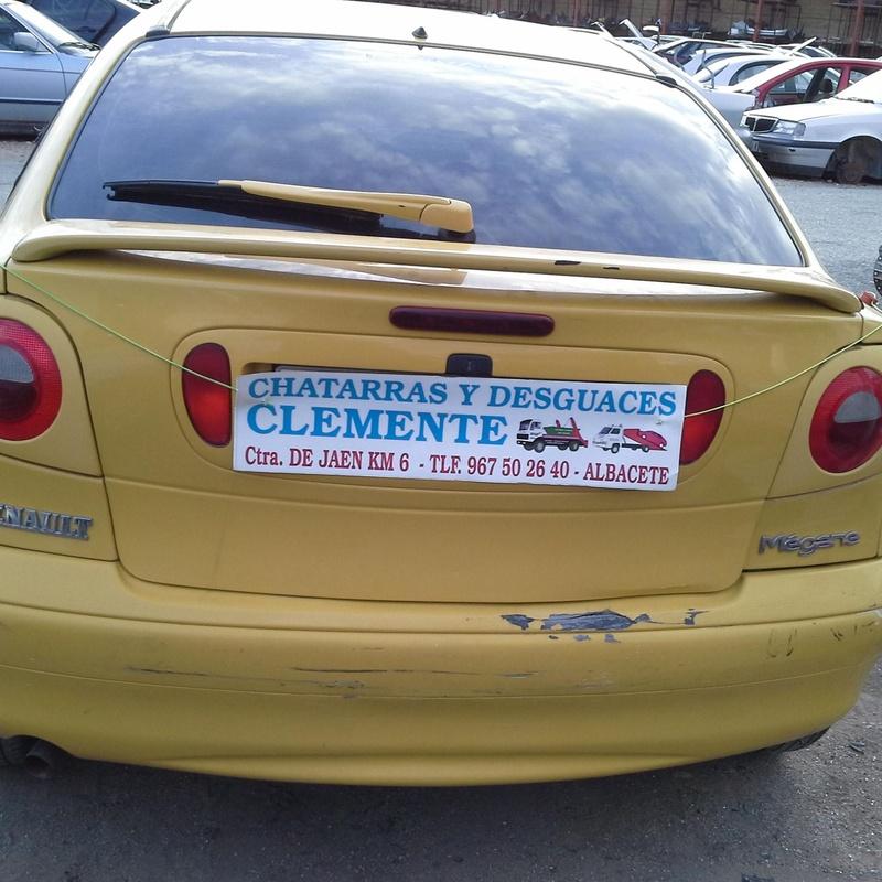 Renault Megane 98 coupe en Desguace de albacete. Desguaces Clemente