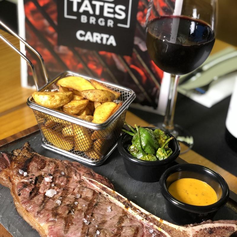 Otros platos: Nuestra carta de New Tates BRGR
