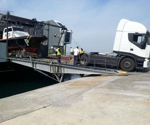 Transporte de embarcaciones por carretera