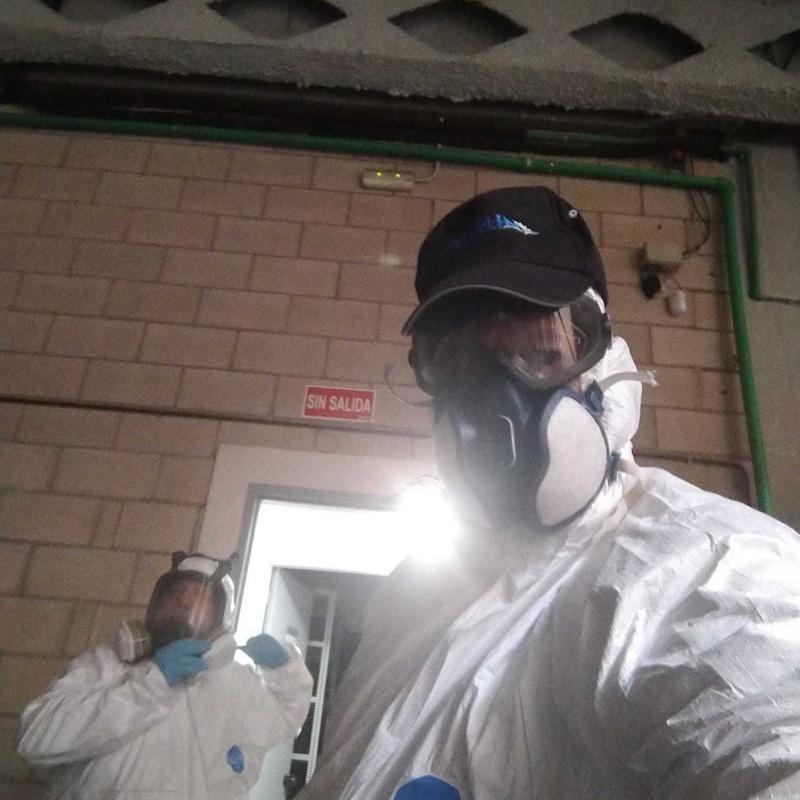 Equipo de protección de desinfección por nebulización