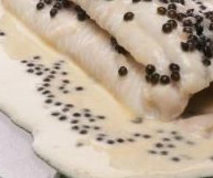 Lenguado al Champán: CARTA EL SEVILLANO de Restaurante Sevillano