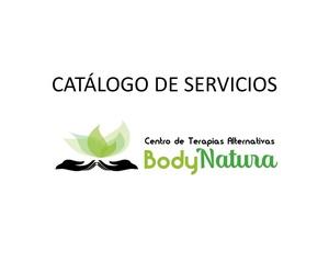 catalogo de nuestro servicios