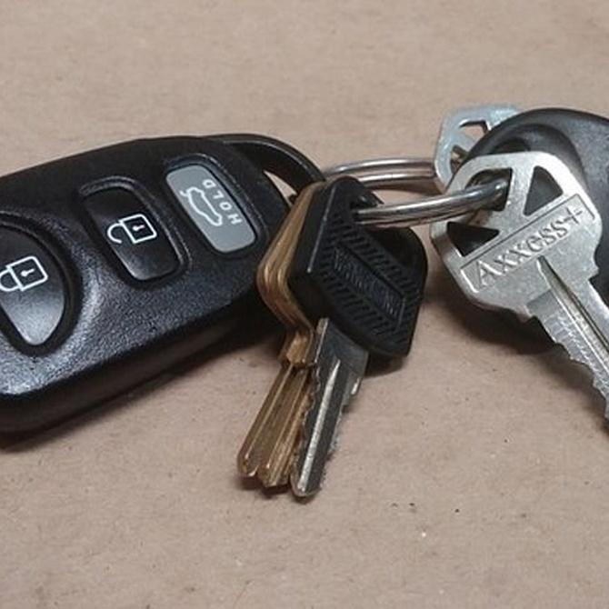 Haz una copia de las llaves de tu coche