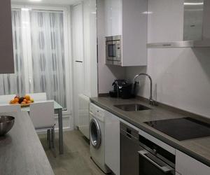 Cocina blanca Barrio del Pilar