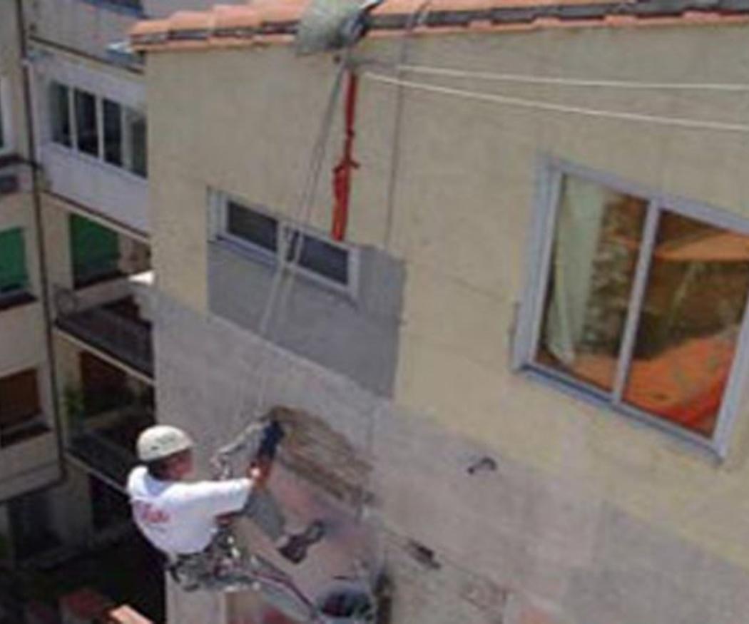Sistemas personales de seguridad en trabajos verticales