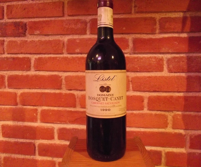 Listel Domaine Bosquet-Canet 1990: Catálogo de López Pascual