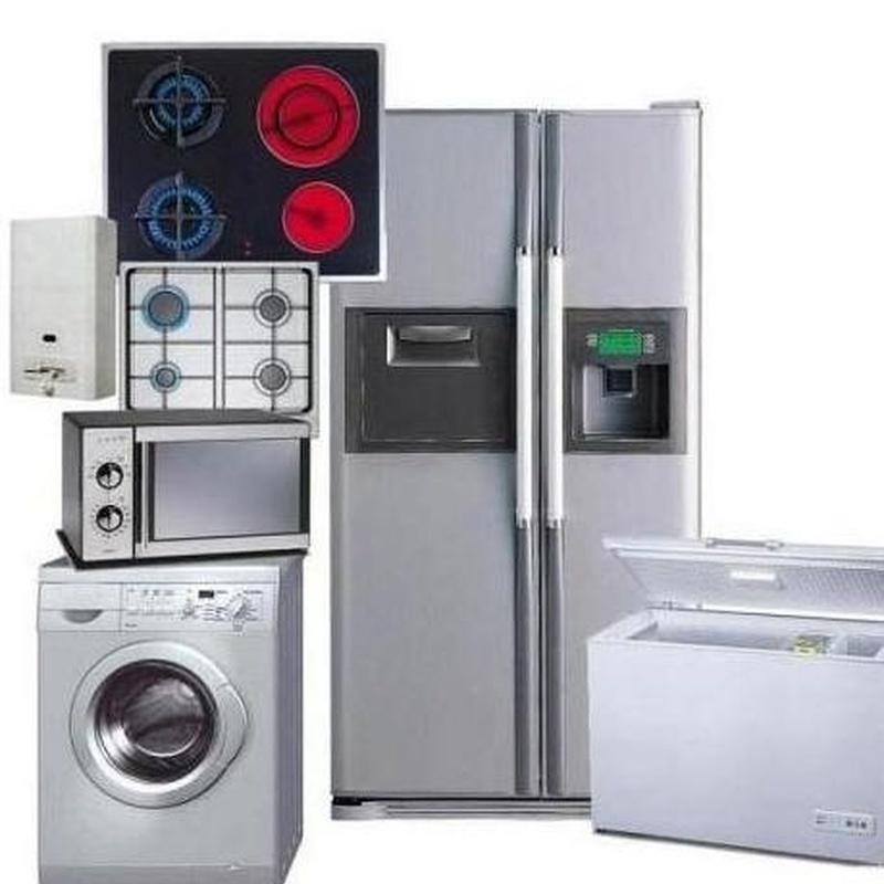 Electrodomésticos: Servicios de Mobiliario Montes