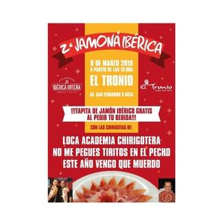 2ª Jamoná Ibérica - 9 de marzo 2019 El Tronio