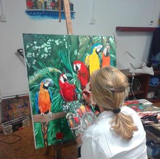 CLASES DE DIBUJO Y PINTURA EN BCM ART GALLERY