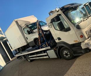 Servicios a furgonetas y furgones sobredimensionados