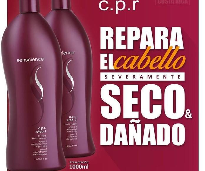 C.P.R: Reconstruye el cabello dañado y seco: Servicios de Peluquería Cristina