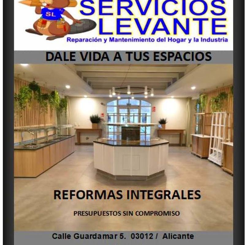 Reformas integrales: Servicios de SANTALI LEVANTINA