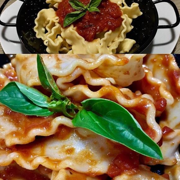 Deliciosa Pasta c/Salsa fresca de Tomate
