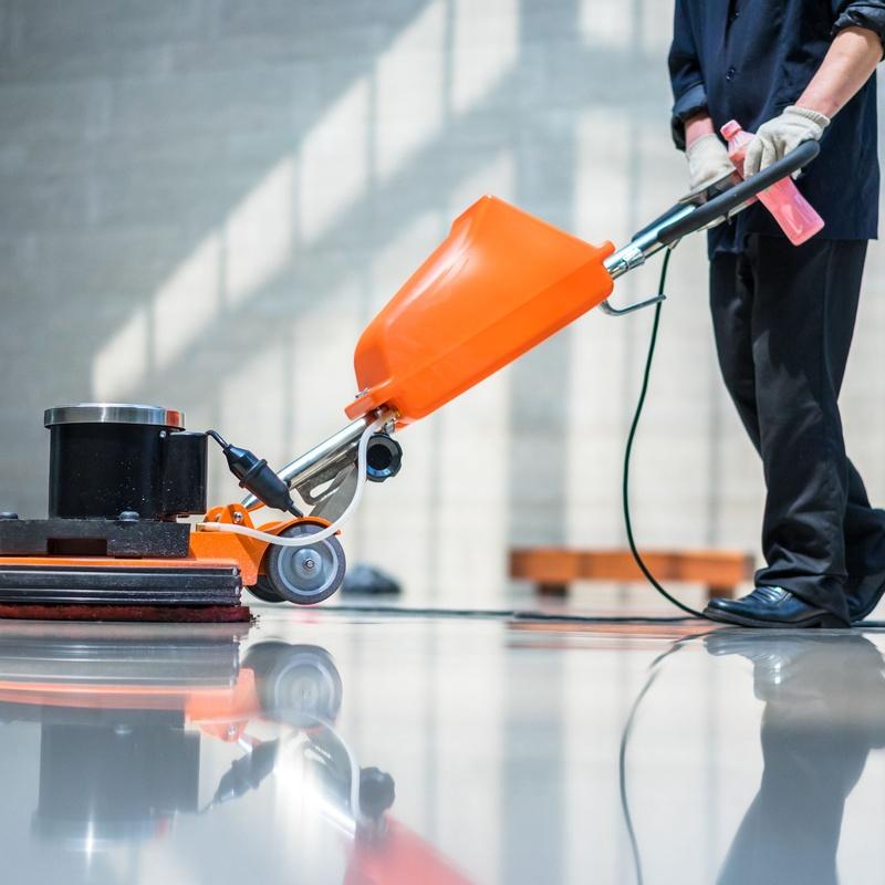 Limpiezas de grandes superficies y centros comerciales: Limpiezas en general de Limpiezas Lipamas