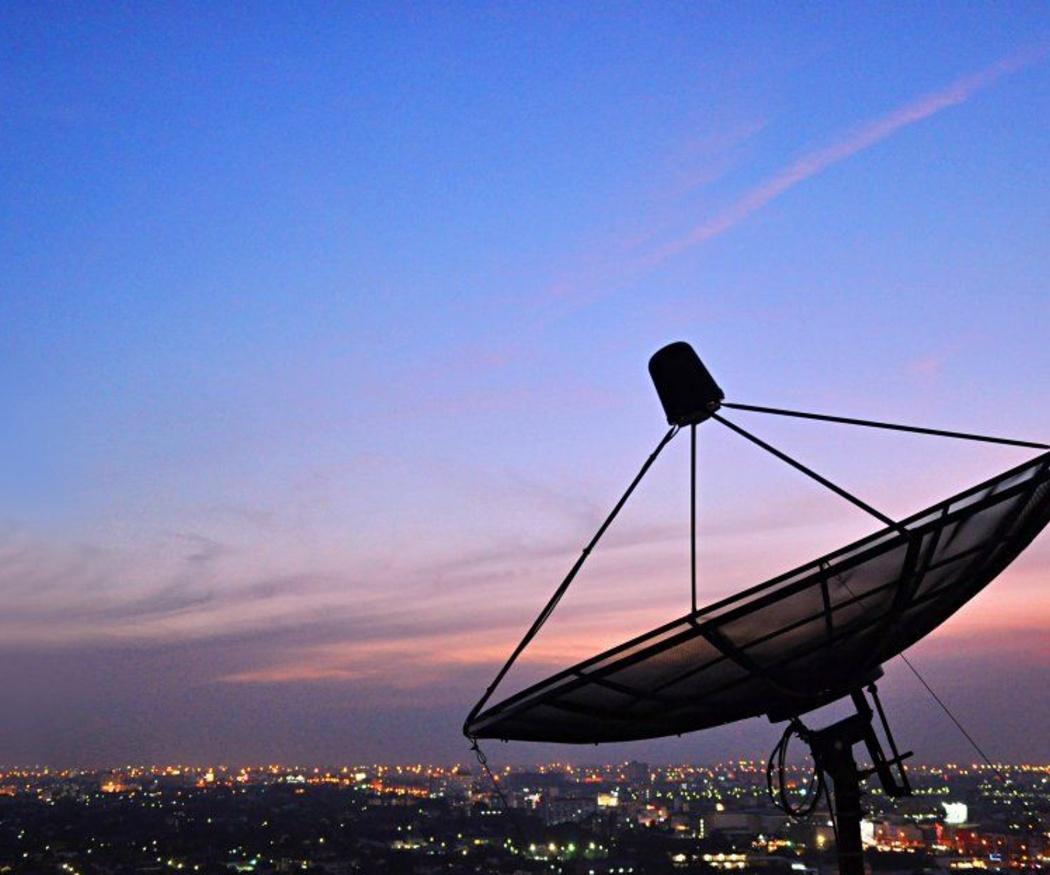 Las antenas parabólicas en el mundo global